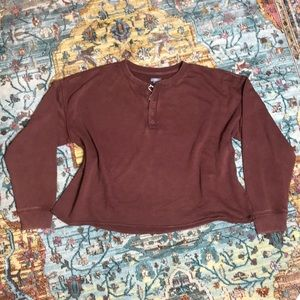 Aerie   NWOT Cropped Sweater Size Large